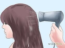11) Dry your hair with a blow dryer or allow it to air dry. Check the final result in a mirror using natural light. And don't freak out! If it's a little off, give it a couple days. That initial wash or two could tone it down.