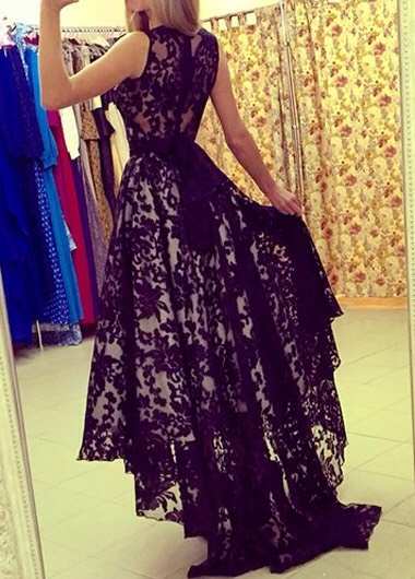 $20.75 http://m.rotita.com/sleeveless-lace-black-belted-maxi-dress-g127808.html