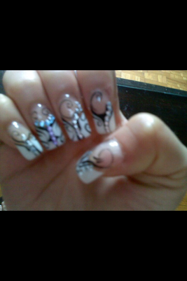 I love getting my nails done!