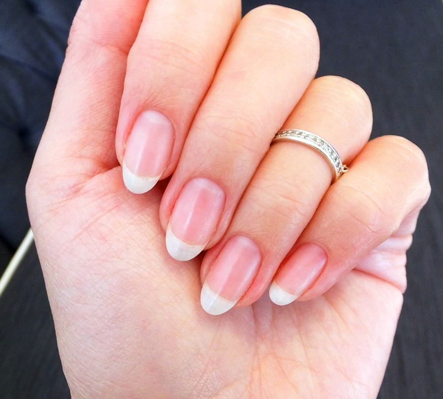 Put Vaseline on your nails go make them stronger