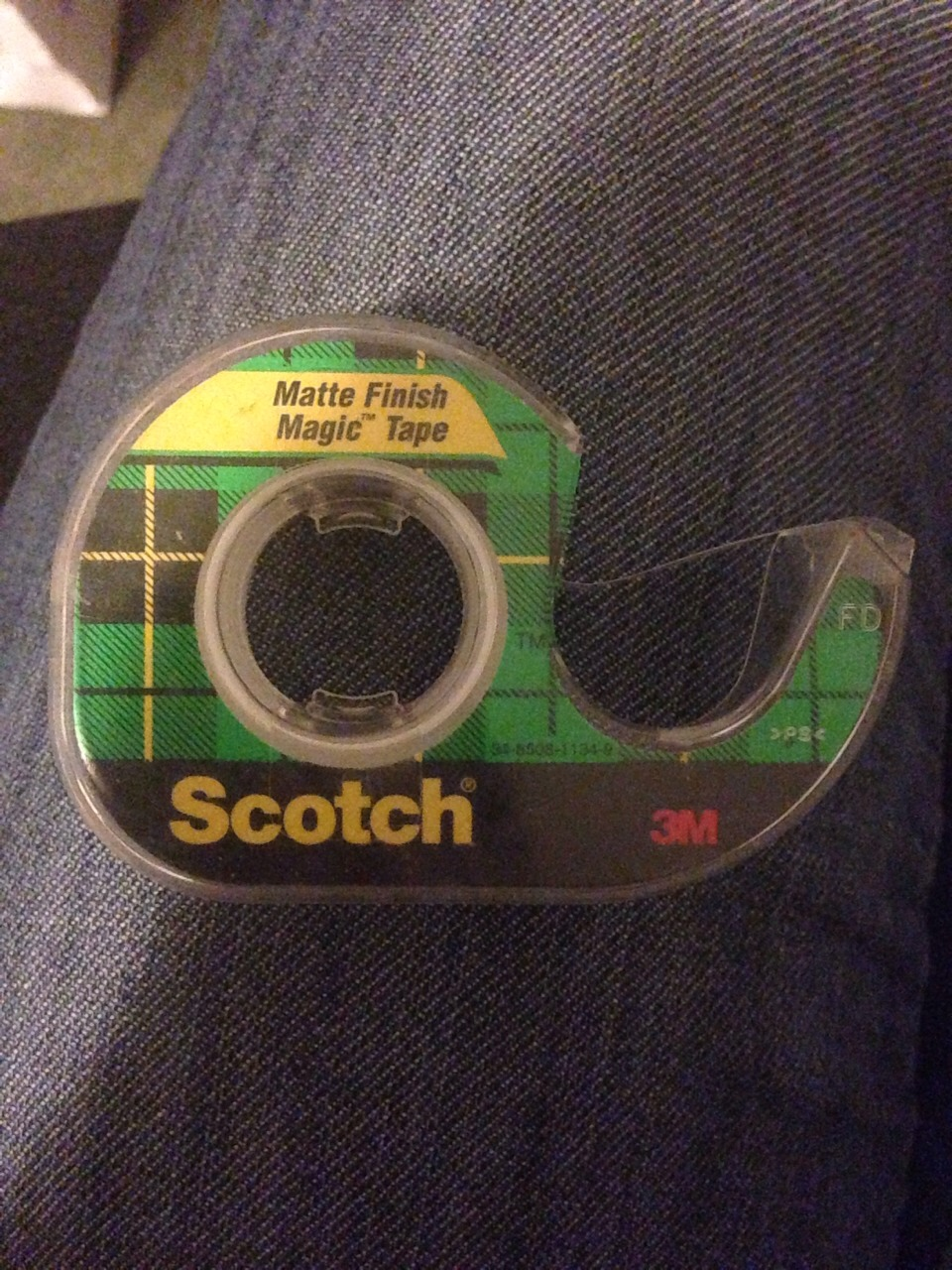 Use Scotch Tape