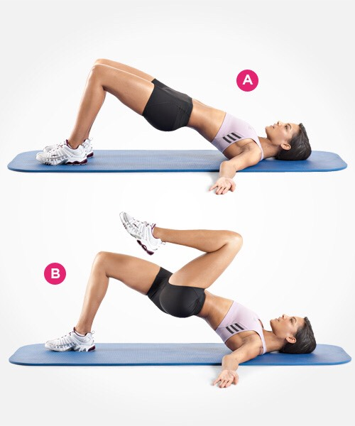 Add a little core into your butt workout!