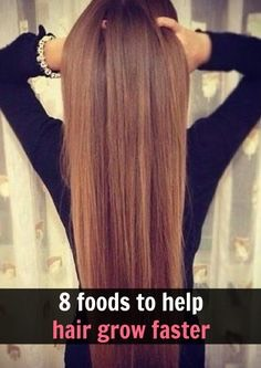 Drink 6-8 cups of water a day so that your hair and body gets what it needs to grow healthy