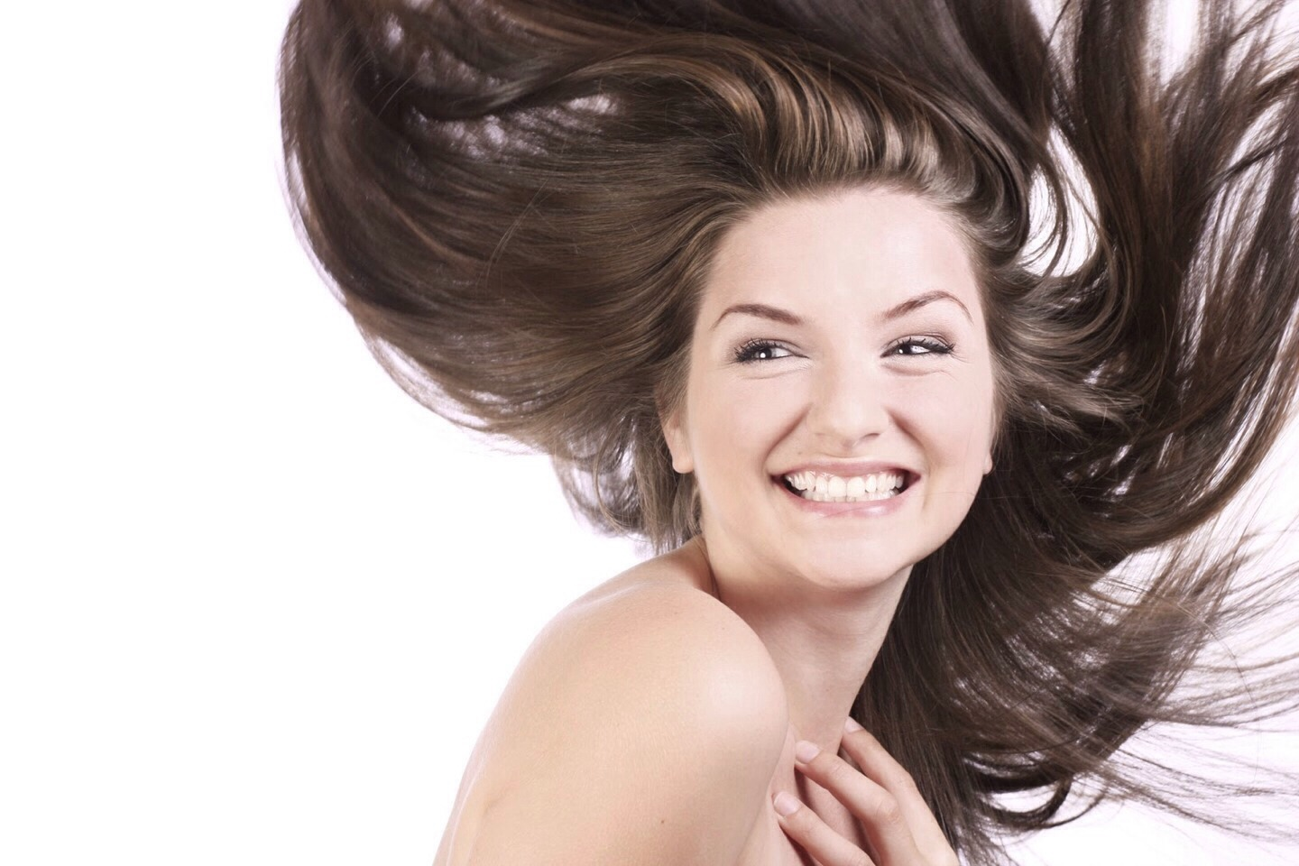 Tip #4: When showering, take your conditioner (add olive oil if you want), spread it throughout your hair and leave it in for a few minutes. Then, condition again but only leave it in for thirty seconds or so.