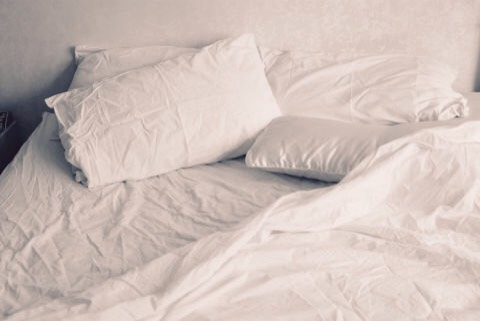 DIRTY SHEETS |What's the problem:If your partner's room is littered with open chip bags, or you have to wade through old towels & dirty clothes to get to your bed in your studio apartment, then it's safe to assume that both of your bedsheets are just as poor shape.
