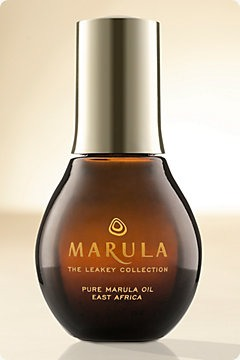 Marula oil is rich in omega oils, Vitamins E and C : Day and night, massage just two or three drops on your face, neck and décolleté as a stand-alone moisturizer or layered under another facial moisturizer, if your skin is on the drier side.