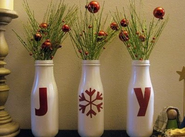 Paint away! Use the bottles as amazing decorations!