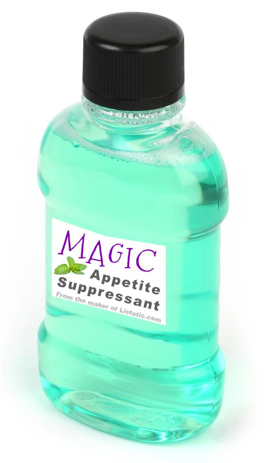 8. Keep Mouthwash Handy Some people swear by chewing gum to keep their sweet tooth at bay, but peppermint mouthwash is what does it for me! Keep a bottle handy at your desk at work, in the kitchen, or anywhere else where a snack attack is bound to happen. And, use it right away after a meal so you'r