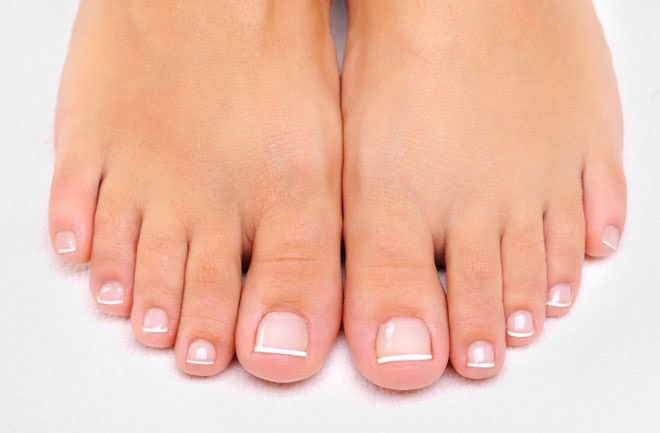 9. Coat your feet in Vaseline every night before bed to get soft feet.
