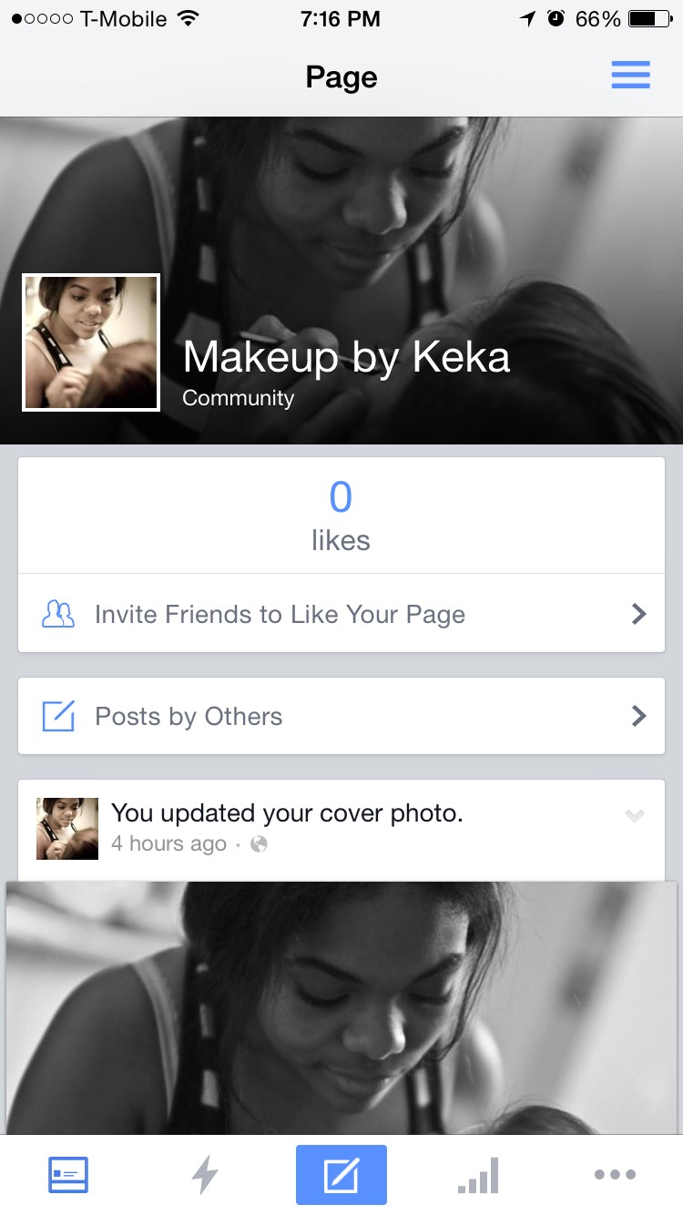 Follow my FaceBook page . Makeup By Keka