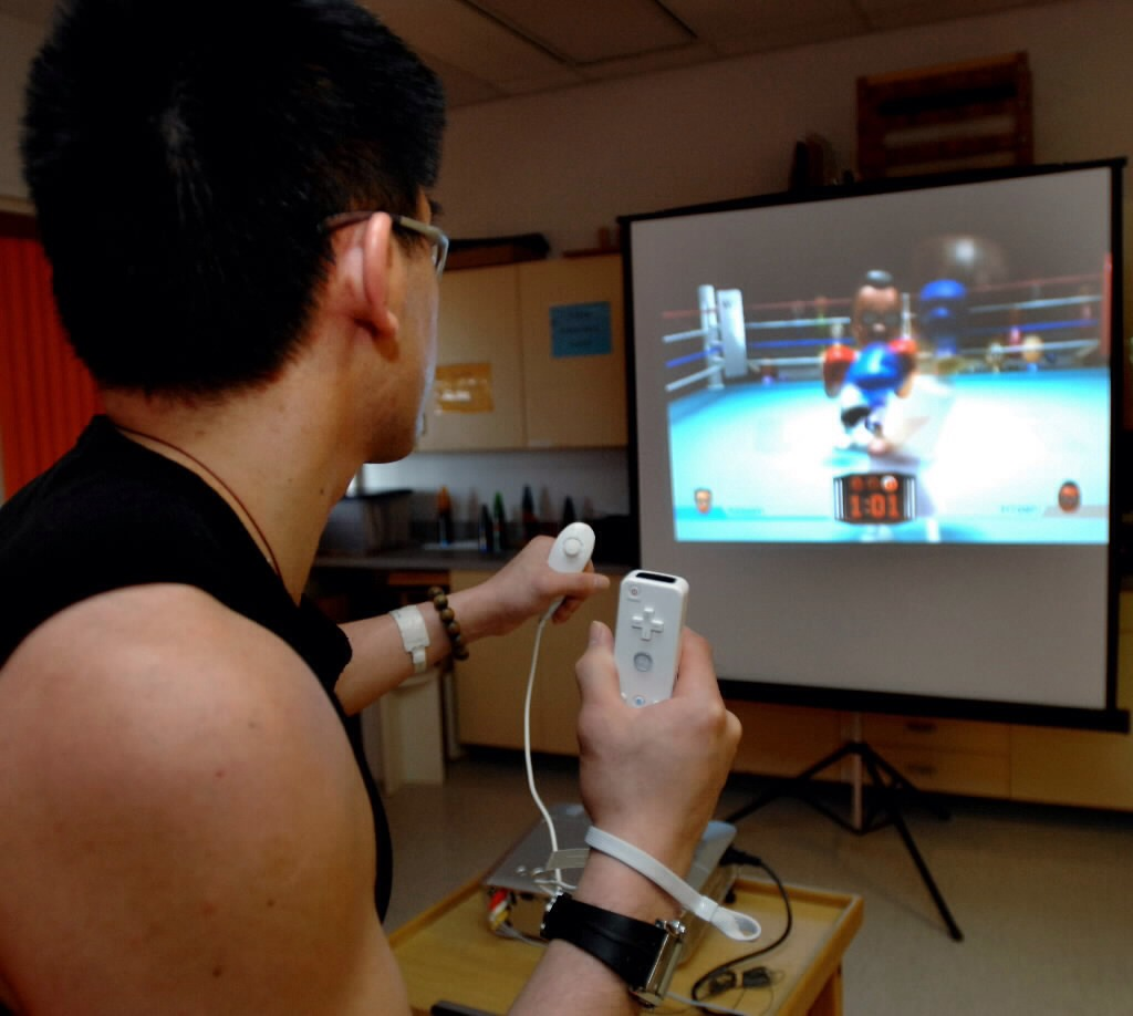 Wii boxing causes you to lose double the calories than you would playing one of the other wii games.