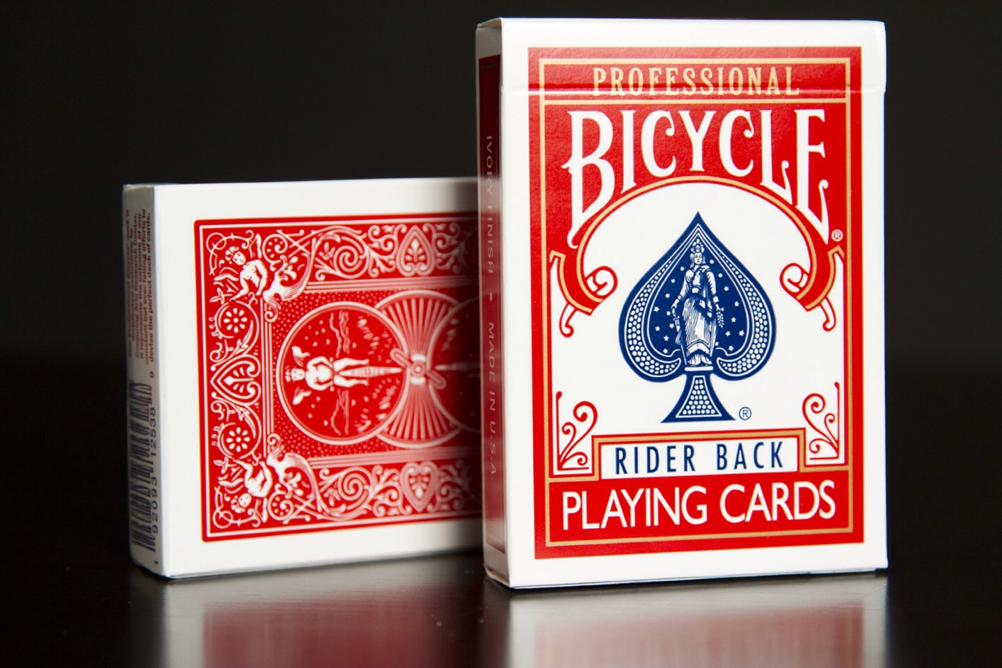 Buy a deck of cards or use an old one