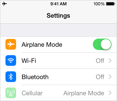 FOR IPHONE AND ANDROID! All you have to do is go to setting and turn on airplane mode! Your phone will charge a lot faster!!!!!!
