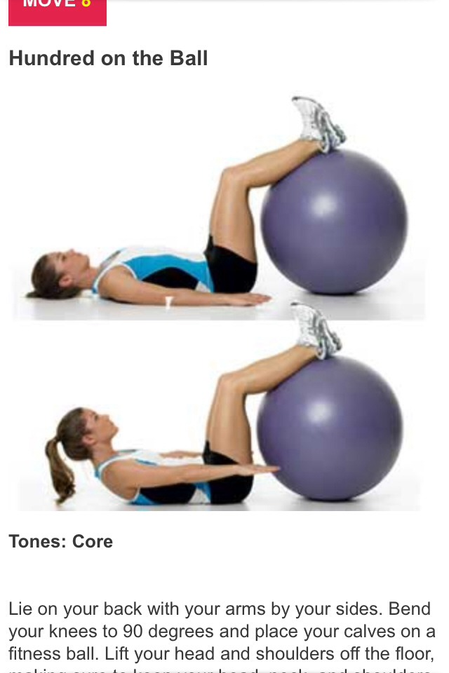 Raised cruches, you can use an exercise ball  or you use a chair anythings that supports your legs up.