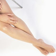finish by moisturizing your legs best moisturized is in your kitchen. use olive oil.  you'll get results on the first try !,