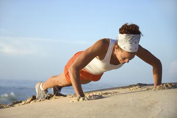 Exercise #3: Pushups  Three sets of 10 rep