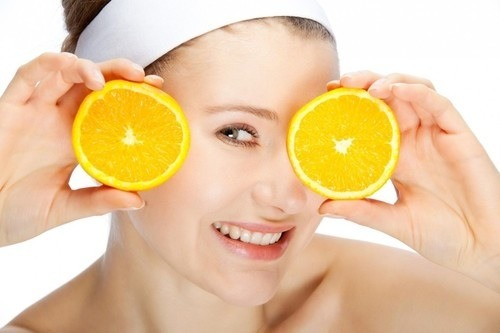 Oranges eliminate wrinkles for a good face and cutie facial. 👍👍👍👍