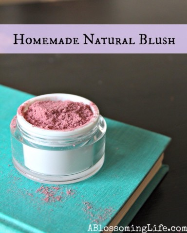 Homemade Natural Blush  http://www.ablossominglife.com/2013/06/homemade-natural-blush.html