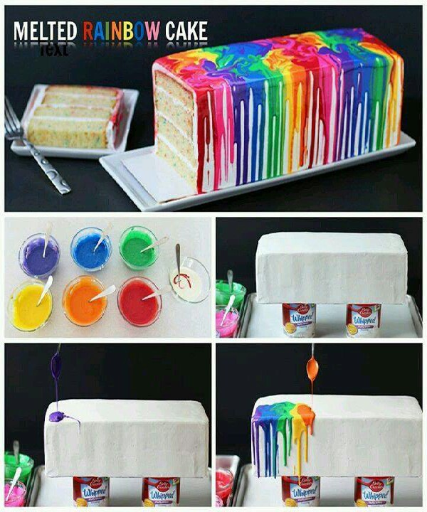 great idea! just melt white chocolate and mix with food coloring!