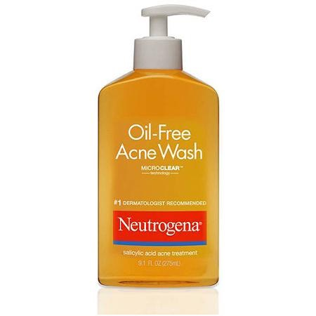 This is also a good wash if you have acne already and you also have oily skin. On normal skin, it will make your face dry !