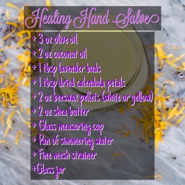 FOUND ON |  http://helloglow.co/healing-hand-salve/