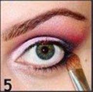 Take that black eyeshadow down into the lower lash line.