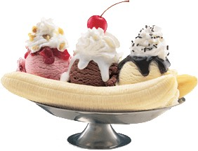 Banana Split Frappiccino  what to order: 1⃣~strawberries and Creme Frappiccino  2⃣~vanilla bean powder 3⃣~Java chips 4⃣~1 whole banana 5⃣~top with whipped cream and mocha drizzle