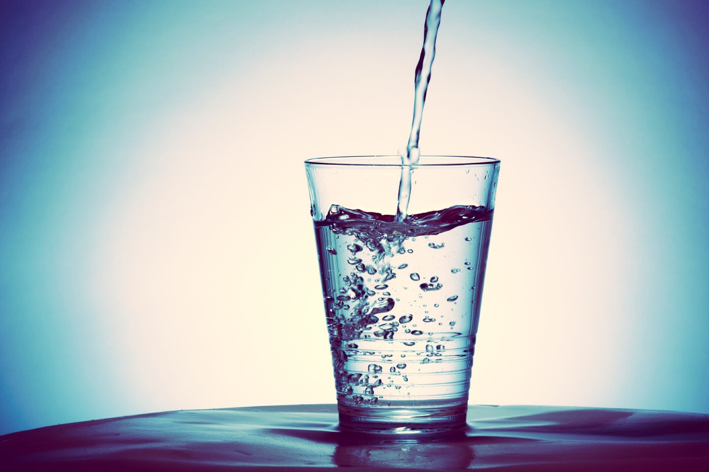 Drink one cup of water when you get up to start up your body for the day. Drink another cup 30 min before a meal so you aren't as hungry during the meal and won't eat as much. Drink another after to help with digestion. Then one when you work out and one before you bathe.