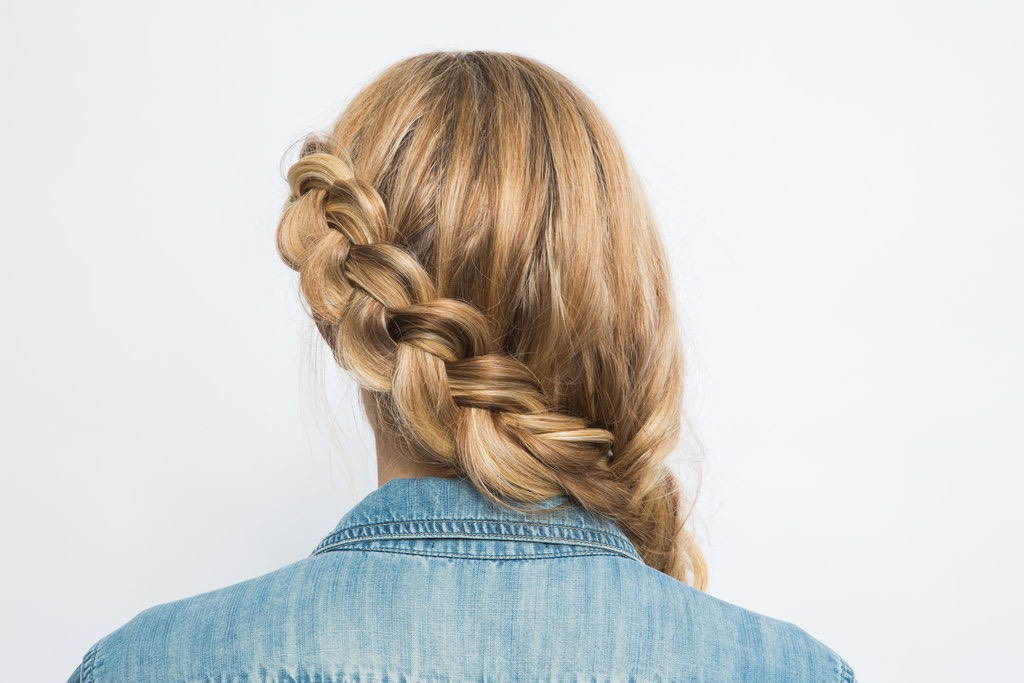Dutch Braid The dutch braid is an inside-out plait anchored to the head. Think of it as a french braid exposed! The finished look creates a plait that sits on top of the hair.