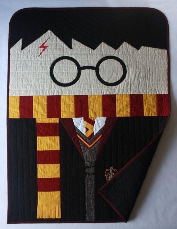 8. This beautiful, handmade quilt.  $245