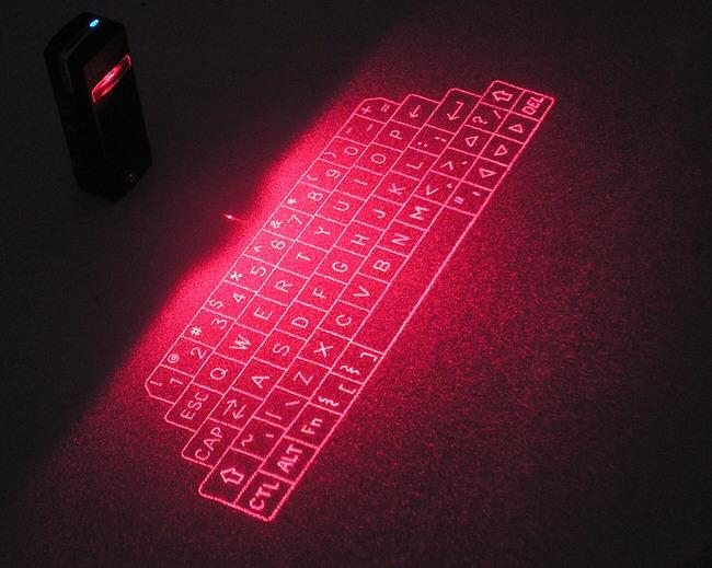 Projected key board