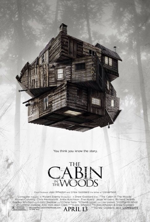 1.) cabin in the woods, I found this more funny than scary