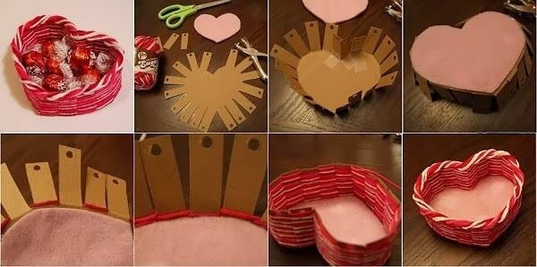 You can use it as a stuffed gift box (right for valentines day!) decoration, or to store stuf- like make-up, jewelry, or as a candy box!