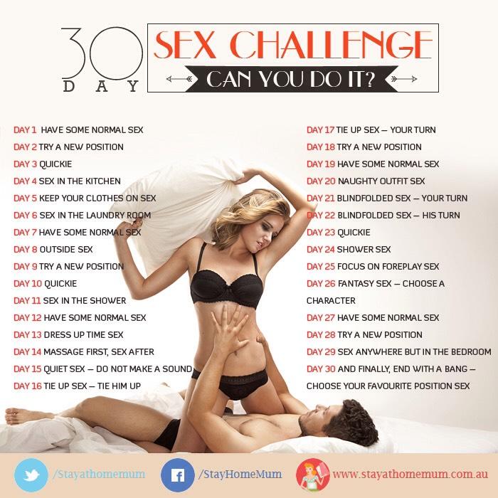 30 Day Sex Challenge!!