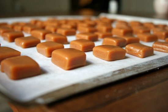 15 ounces of store bought or homemade soft caramels