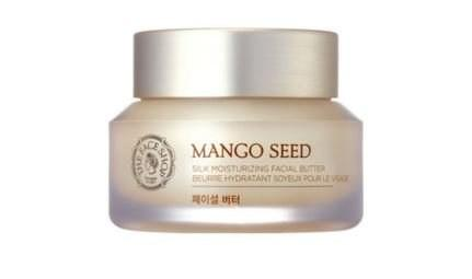 The Face Shop Mango Seed Silk Moisturizing Facial Butter claims to offer intense hydration that lasts up to 36 hours.