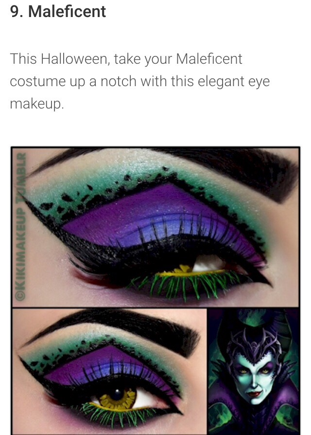 Eye Makeup Designs To Keep All Eyes On You This Halloween