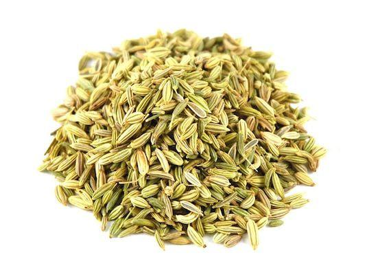 10. Fennel Seeds Need relief fast? Fennel relaxes the muscles in your digestive tract, allowing any trapped gas to pass. It's what you would call a bloat-blaster! Enjoy it in your tea or sprinkled directly on your food.