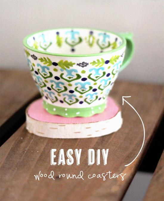 or paint and make your own coasters.