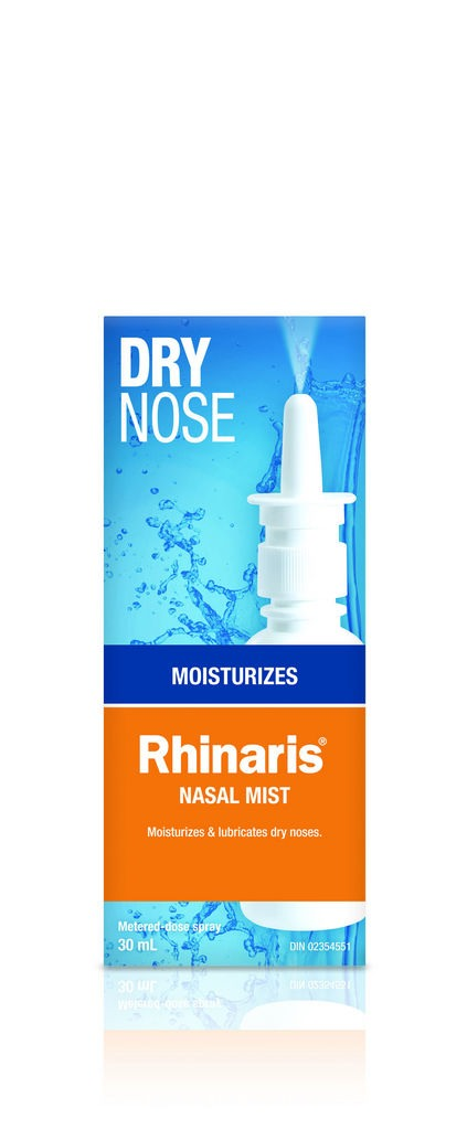 This nasal mist really helped me when I first started and when my doses increased - my nose was so dry it would crack on the inside and bleed. It was very painful, but this soothed it, and stayed because it was a gel.