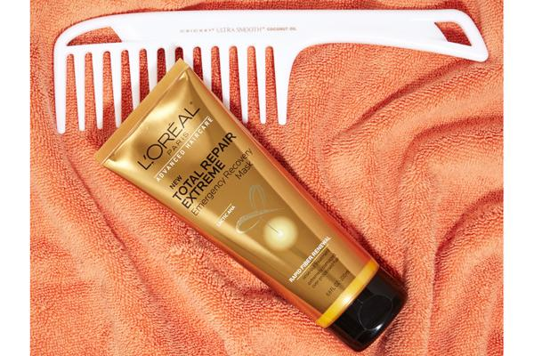 "L'Oreal Paris Hair Mask ""Makes hair super smooth, sleek and silky in minutes!"""