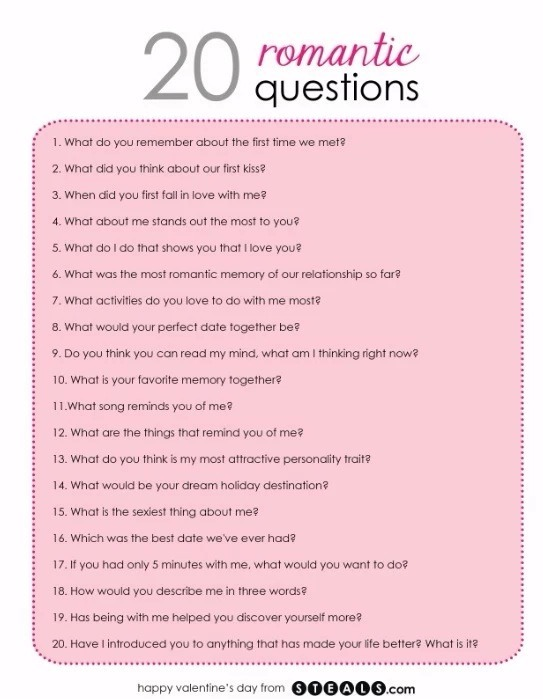 20 Romantic Questions!!!! by Leaving Forever - Musely