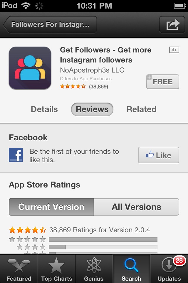 This app will give you 4,000 followers in LESS THAN 1 WEEK!!! Almost 40,000 people are using this right now to get Instagram famous.  WHAT ARE YOU WAITING FOR!!??