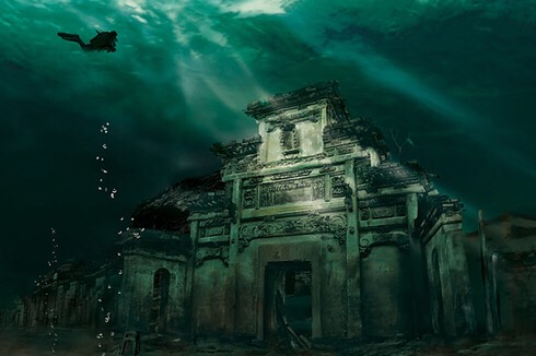 Underwater City, China