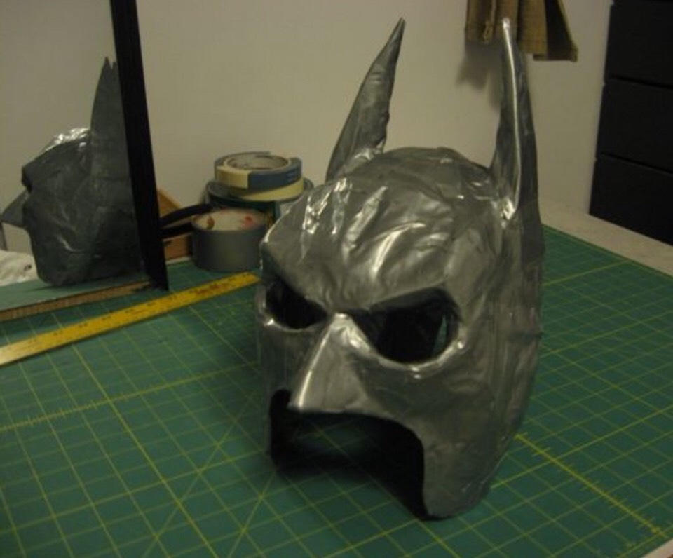 As a finishing touch, feel free to paint this amazing batman mask black to make it even more realistic.