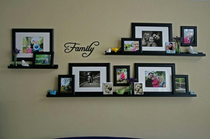 wall frames collage ideas