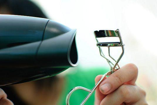 Heat Your Lash Curler