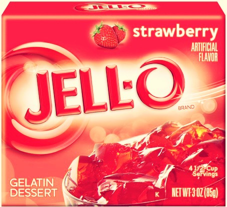 Unknown to most Vegetarians, Jell-o products contain gelatin which is made out of animal bones. Though not all vegetarians avoid gelatin, many do not want to eat any part of an animal. Check the labels before you buy. Some puddings that aren't Jell-O are gelatin free. A gelatin substitute is agar.