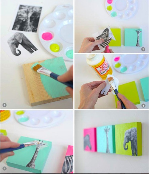 Paint, craft... Be creative!!