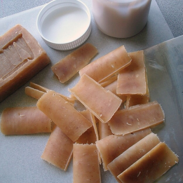 how to make vegetable soap